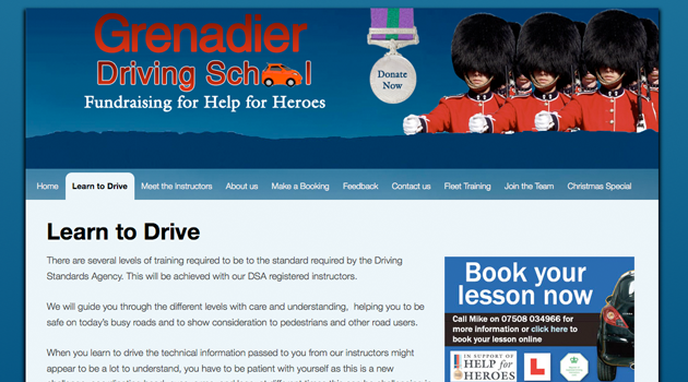 Grenadier Driving School