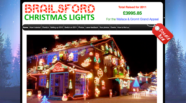 Brailsford Christmas Lights