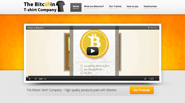 The Bitcoin T-shirt Company