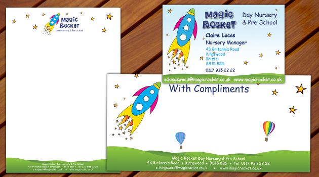Magic Rocket Stationary