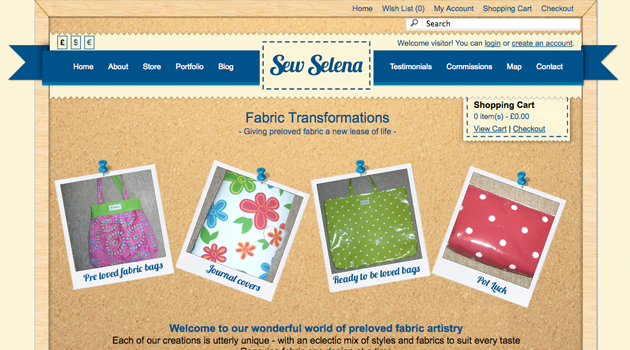 Sew Selena Website