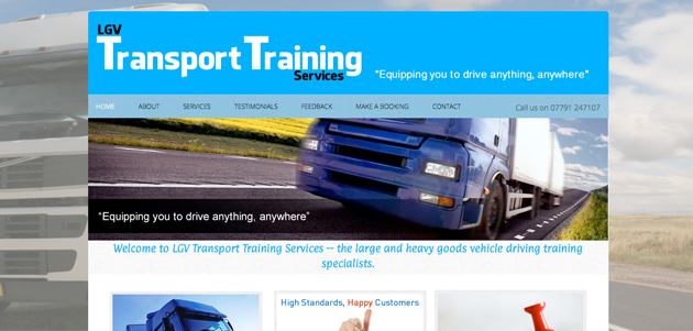 LGV Transport Training Services Ltd