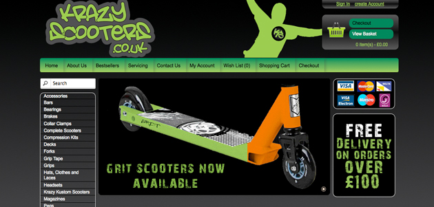 Krazy Scooters